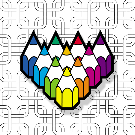 patterns for colouring icon